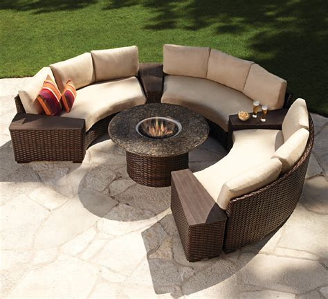 backyard tables top 10 best fire pit patio sets