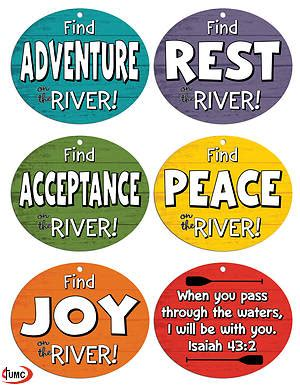 vacation bible school vbs 2018 rolling river rage tie on vest pkg of 12 experience the ride of a lifetime with god books vacation bible school vbs 2018 rolling river rage