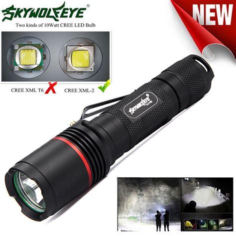 Senter Led Tactical Cree Xm L 8000 Lumens 8000 lumens cree xm l l2 led 3modes 18650 tactical led flashlight torch cing wholesales