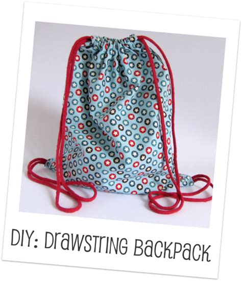 make drawstring backpack handmade kidshandmade kids