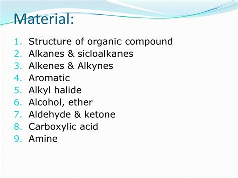 Chapter 1 organic chem