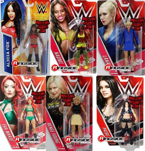 alicia fox toy package deal includes the following wwe toy wrestling