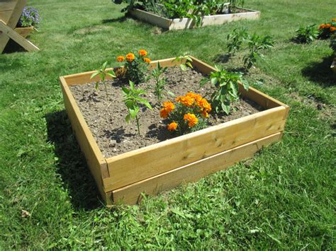 cedar raised bed natural cedar raised bed 3 x3 x 11 tall free