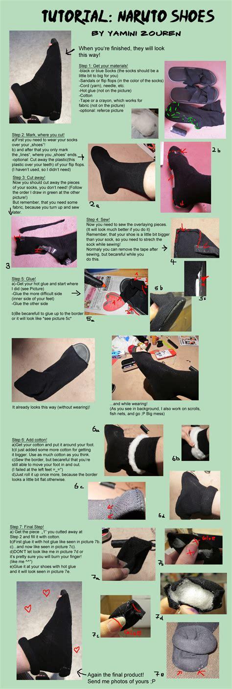 Tutorial Naruto Cosplay | tutorial naruto shoes by yaminizouren photos on deviantart