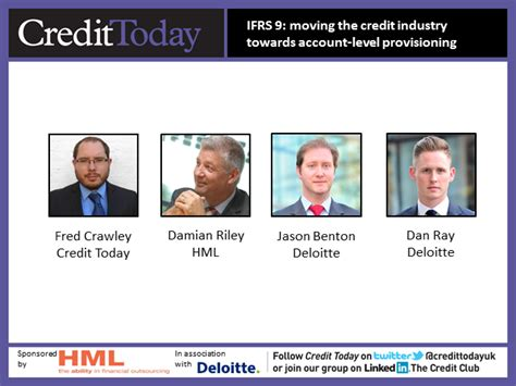Deloitte Webcast Calendar Ifrs 9 Moving The Credit Industry Towards Account Level