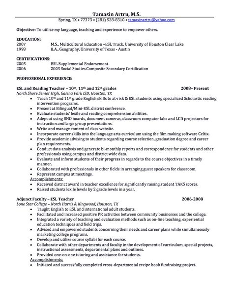 academic cv template academic resume sle shows
