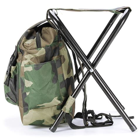 folding fishing chair backpack aliexpress buy fishing chair outdoor camouflage bag