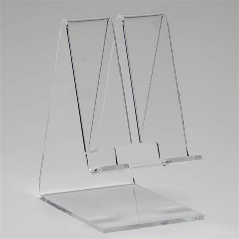 Table Top Easels Cell Phone Stand Clear Buy Acrylic Displays Shop