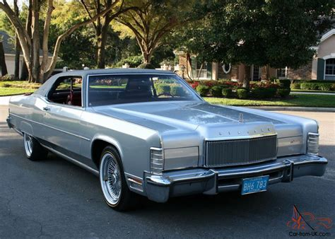 gorgeous ultra survivor 1974 lincoln town coupe 46k