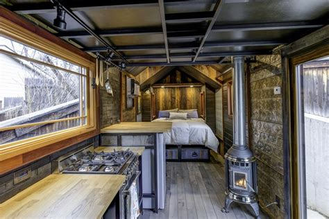 House Square Footage by This Tiny House Boasts Luxury Features And Eclectic Decor