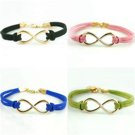 Handmade Cord Bracelets - handmade charm diy infinity leather cord