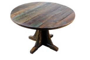rustic round dining room tables rustic round dining tables