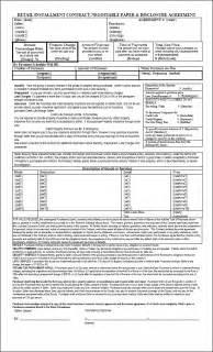 installment sale agreement template sle printout installment sale contract