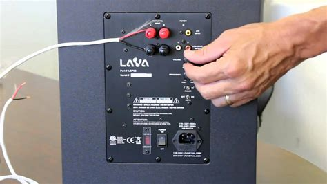 Headset Jbl By Harman Stereo Bass System T1910 how to install a hometheater subwoofer