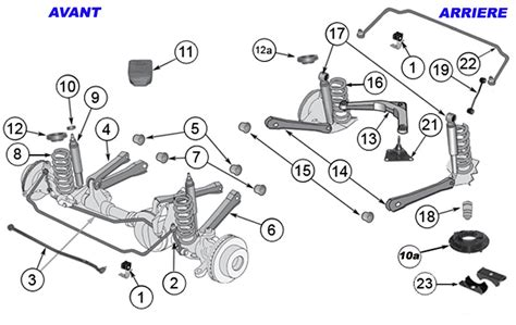1996 jeep grand front suspension diagram 1993 jeep grand front suspension diagram 1993