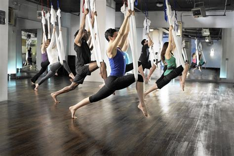 air yoga mind  body soar   heights  air yoga