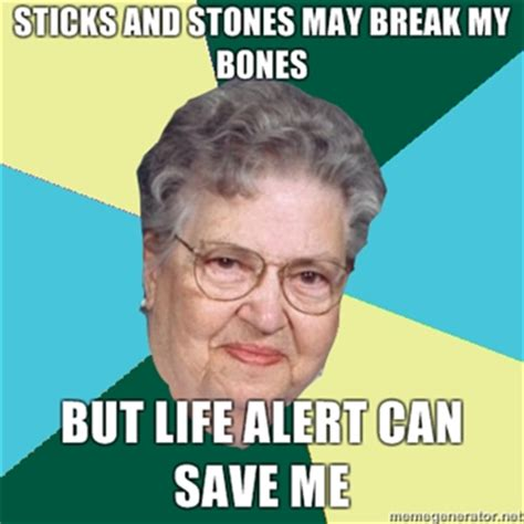 Life Alert Lady Meme - life alert picsauce