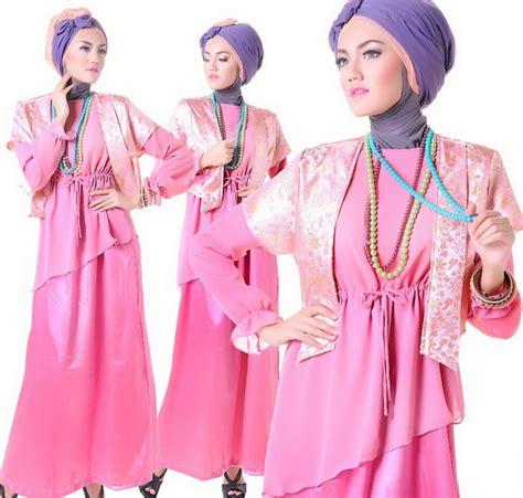 Lihat Busana Muslim kamu remaja lihat nih koleksi model dress muslim terbaru fashion idea moslem style