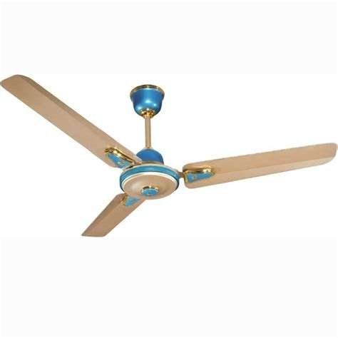 High Speed Ceiling Fans by Buy Crompton High Speed Decora Metallic 48 Quot Aqua Gold