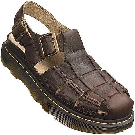 dr martens mens sandals dr martens closed toe fisherman sandals for 74859