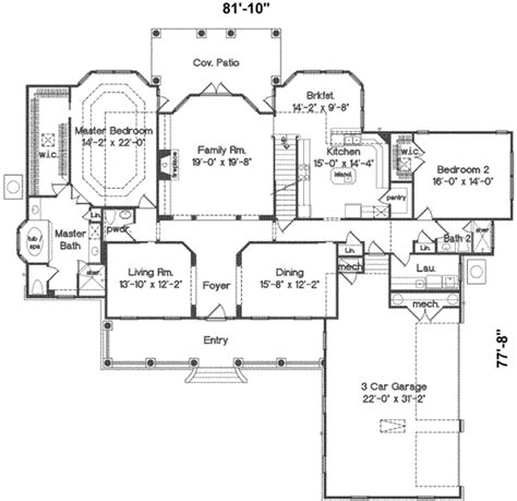 4000 sq ft floor plans southern style house plan 5 beds 4 5 baths 4001 sq ft