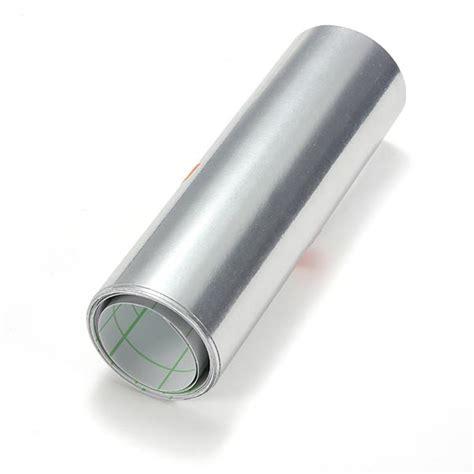 Stiker Chromo 5 X 45 Cm 15 x 152cm auto sticker silver chrome wrapping vinyl 5 9