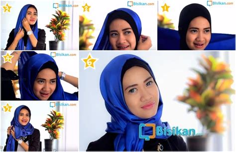 tutorial hijab pashmina semi formal tutorial hijab pashmina semi formal yang praktis dan modern