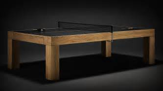 Wooden Ping Pong Table by Ping Pong Tables Never Been So Gizmodo Australia