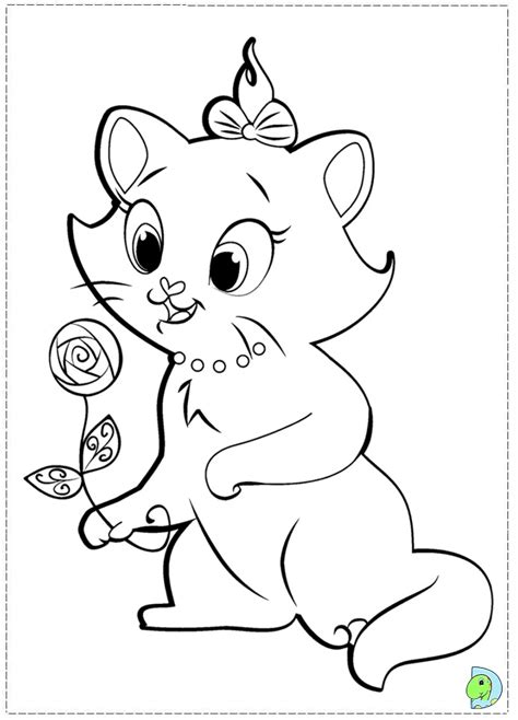 marie cat coloring pages freecoloring4u com