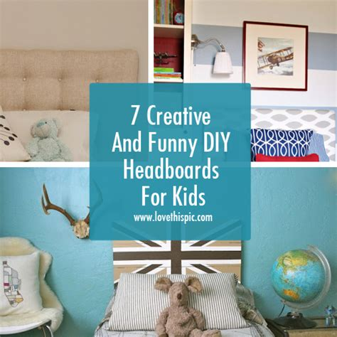 homemade headboards for kids 7 creative and funny diy headboards for kids