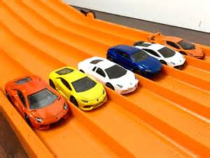 RACE: LAMBORGHINI , Series 1, Race 2   Hot Wheels   YouTube