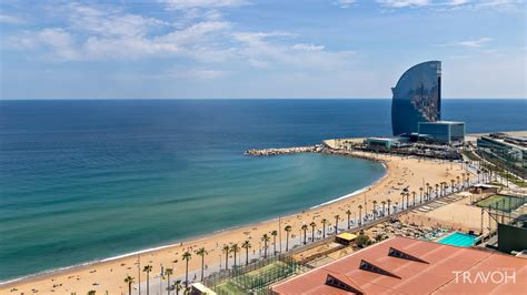 barcelona beach barcelona spain beaches pictures to pin on pinterest
