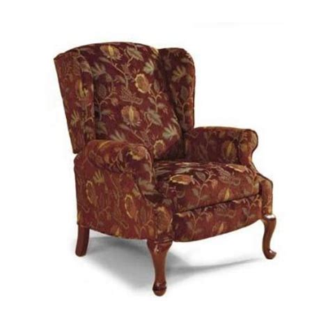 wingback reclining chairs wing back recliner