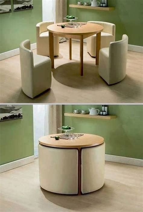 Space Saving Kitchen Tables And Chairs How To Choose Modern Furniture For Small Spaces