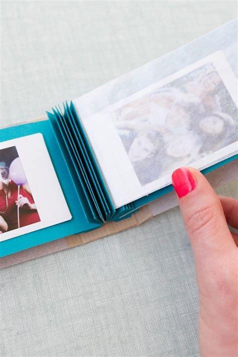 diy mini photo album mariage mariage original