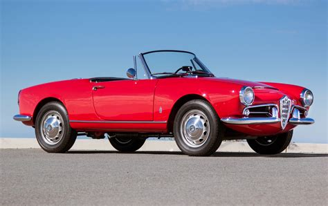 Alfa Romeo Company 1964 alfa romeo giulia spider gooding company