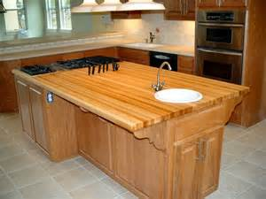 Island Counter Top by Hard Maple Custom Wood Countertops Butcher Block