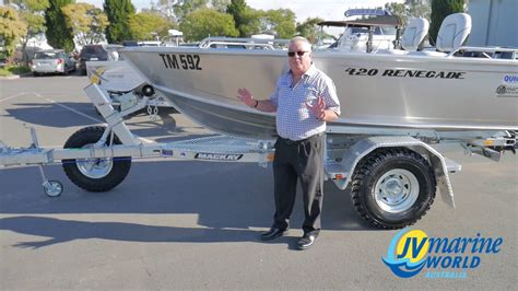 boat r road mackay off road trailers available at jv marine world