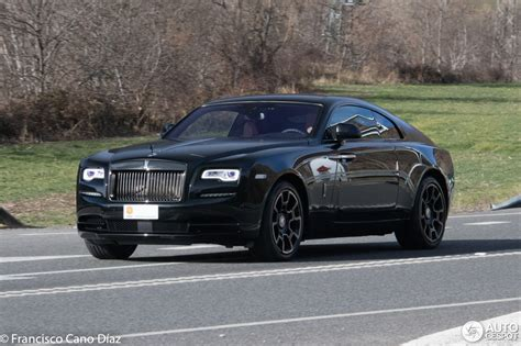 rolls royce badge rolls royce wraith black badge 23 enero 2018 autogespot