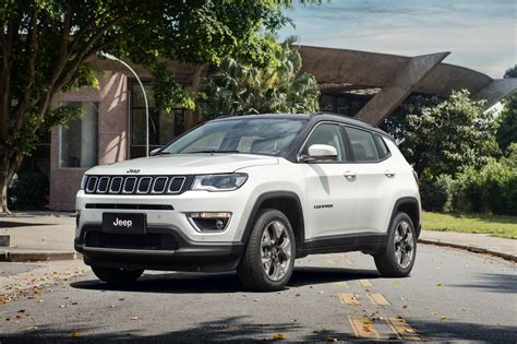 jeep compass limited 2017 jeep compass poses for the camera in all trim levels