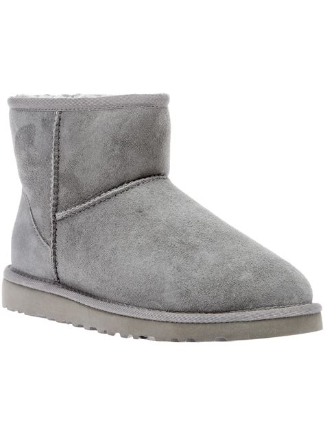 grey ugg boots for ugg shearling boot in gray grey lyst