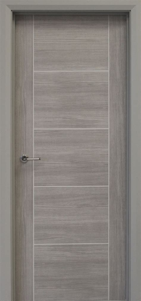 Vancouver Lava Grey   Internal Doors   Laminate Doors