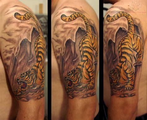 biomechanical tiger tattoo tiger tattoo images designs