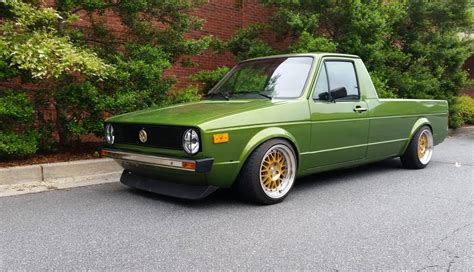 volkswagen rabbit truck a pickup truck with rabbit ears quirk cars