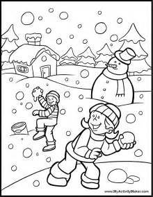 winter printable coloring pages az coloring pages