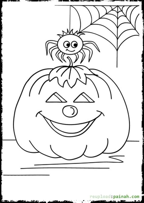 cute spider coloring pages halloween spider coloring pages coloring home