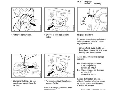 Reglage Tronconneuse Stihl by Reglage Carburateur Tronconneuse Stihl 025 Rayon