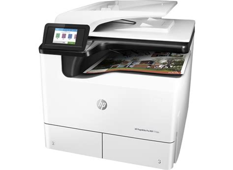 Printer A3 Merk Hp hp pagewide pro 772dn a3 colour multifunction printer hp store uk