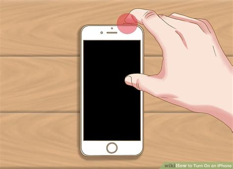 how to turn on an iphone 9 steps with pictures wikihow