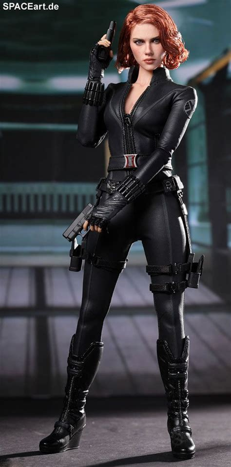 Figur Diecast Marvel Black Widow the black widow deluxe figur fertig modell